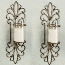 attractive wall sconce candle