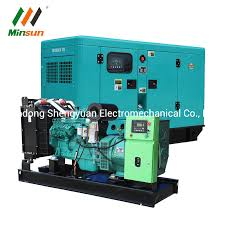 <b>China 100kw Soundproof</b> Electric Power Genset with Cabinet Diesel ...