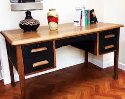 retro office desks. soldretro teacheru0027s desk air ministry stylemidcentury modern vintage solid oak hand retro office desks i