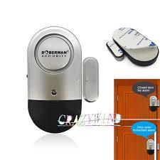 <b>Wireless</b> Door Window <b>Magnetic Sensor Detector</b> Alarm Alert Siren ...
