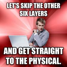 Overly Suave IT Guy Meme (Is Really More Of A Pervert IT Guy With ... via Relatably.com