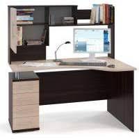 <b>Компьютерные</b> столы с <b>надстройкой</b>, шкафчиками, полками