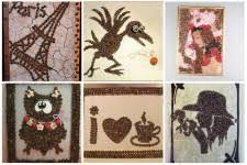 <b>Картины</b> для интерьера <b>своими руками</b> из подручных материалов