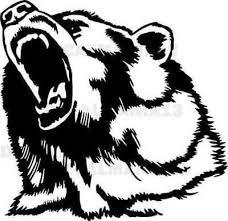 <b>Bear Head Decal</b> Angry Grizzly Wall <b>Car</b> Truck Laptop <b>Window</b> Vinyl ...