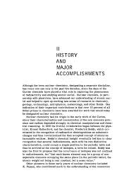history and major accomplishments nuclear chemistry a current page 3