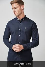 <b>Men's Long Sleeve</b> Shirts | Smart & Casual Shirts | Next