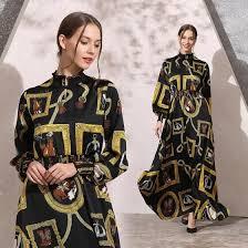Shop M L XL XXL <b>vintage</b> new <b>spring</b> 2019 <b>long</b> maxi print dress ...
