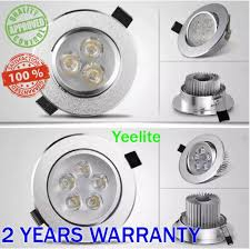 YEELITE Original LED Recessed <b>Downlight</b> with Eye <b>3W 5W</b> 7W <b>9W</b> ...