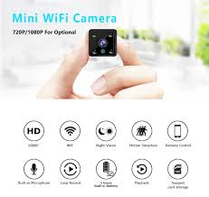 <b>Mini Camera 720P Sensor</b> Built in Battery Night Vision Camcorder ...