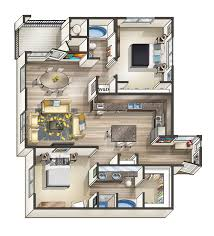 Modern One Bedroom Apartment Design One Bedroom Apartment Plans And Designs