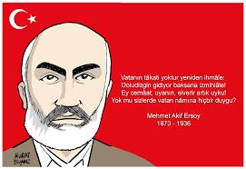 Sadece Mehmet <b>Akif Ersoy</b> şiirleri-Anısına saygı ile. - mehmetakifersoy-renkli-yazl-kucuk