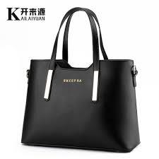 <b>KLY 100</b>% <b>Genuine leather</b> Women handbags 2019 New package ...
