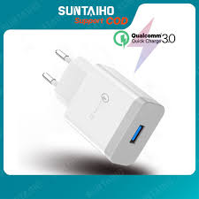 Suntaiho 3.0 <b>Quick Charge USB Fast Charging Adapter</b> 18 Watts ...