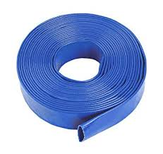 Blue Layflat Water Discharge Hose Pipe Pump Irrigation - <b>38mm</b> (1 ...