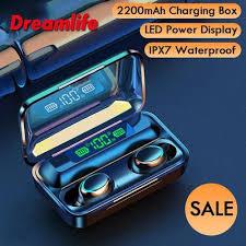 F9 Tws <b>Wireless</b> Bluetooth <b>Headphones 5.0</b> Touch <b>Earphones</b> With ...