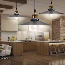 Loft <b>Vintage</b> Industrial <b>Pendant</b> Light <b>Nordic Retro Iron</b> Lights Edison ...