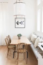 room buy breakfast nook set: z cotton lamp and a banquette in the breakfast nook decorist showhouse by