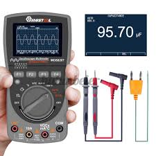 Multimeter Osiloskop <b>Mds8207 2 In 1</b> Digital 40mhz 200msps/s ...