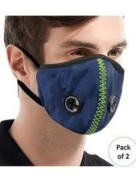 Lioncrown Unisex Reusable 4 Layer Outdoor <b>Face Mask</b> With <b>PU</b> ...