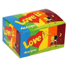 Жевательная резинка <b>Love Is</b> — купить на Яндекс.Маркете