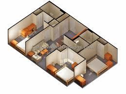 Bedroom Bath House Plans   Bedroom Bath Apartments       Bedroom Bath House Plans