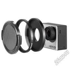 UV светофильтр 52 мм с крышкой для экшн (экшен) камеры ...