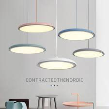 Nordic Post <b>Modern LED Pendant Lights</b> Restaurant Living Room ...