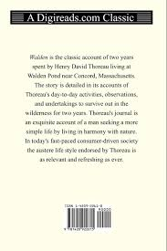 walden henry david thoreau com books
