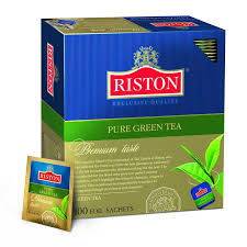 <b>Чай Riston Pure Green Tea</b> зел.100 пак/пач, <b>Чай</b>, купить, интернет ...