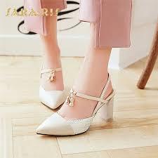 SaraIris Womens Closed Toe <b>Chunky Heel Sandals</b> Slingback ...