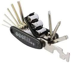 Black Menba <b>15 IN 1</b> Multi Hex Allen Wrench Screwdriver Travel ...