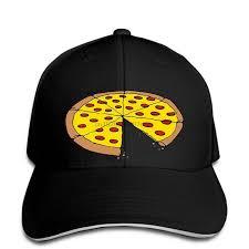 Бейсбольная кепка с рисунком пиццы для мамы, мамы, дочки и ...