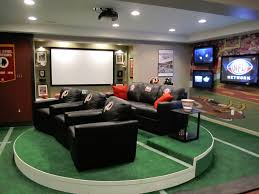 this is one of the most popular man cave concepts on our site its definitely basement sports bar ideas