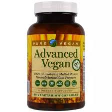 Pure <b>Vegan</b> Multivitamin <b>Advanced</b>