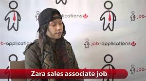 zara s associate job