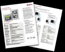 "IDEC <b>5.7</b>"" Enhanced HMI"