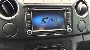 VW Amarok <b>Штатное головное устройство</b> - YouTube