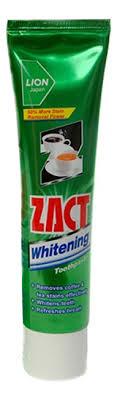 <b>Зубная паста отбеливающая Zact</b> Whitening 100г LION купить ...