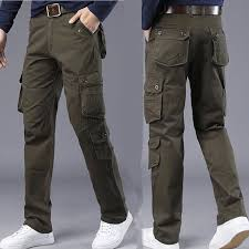<b>IX7 Tactical Pants Men</b> Plus Size Stretch Flexible Cotton Trousers ...