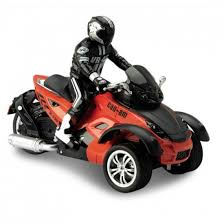 <b>Радиоуправляемый мотоцикл Yuan Di</b> Трицикл YD898-T53 1:10 ...