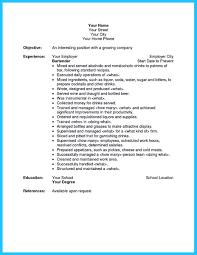 sample restaurant bartender resume resume templat banquet head bartender job description head bartender job description