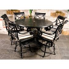 bar height patio chair: dynasty counter height patio set by gensun free shipping