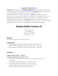 resume examples for english teacher resume templates resume examples for english teacher teacher resume sample monster sample dance resumes sample resume sle cv