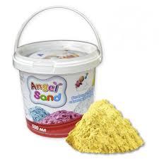 <b>Игровой песок Angel</b> Sand желтый 500 мл