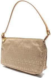 Oh 8br267 <b>zukka</b> Pattern Shoulder Bags Fendi Women's [Used]