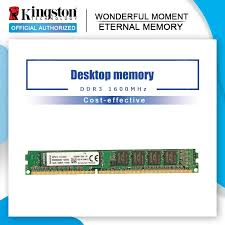 Original <b>Kingston</b> Memoria RAM 8GB 4GB <b>2GB 1600MHz DDR3</b> ...