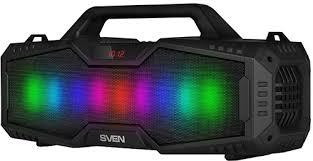 купить портативную акустику <b>Sven PS</b>-<b>480 Black</b> (SV-016715)