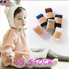 0-6 Years Infant Baby Kid Girls Solid Cotton Pantyhose <b>Socks</b> ...