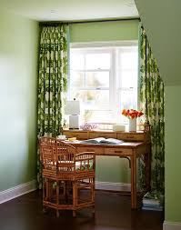 green home office design with bamboo desk and rattan chair view full size adorable adorable home office desk full size