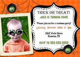 kids birthday party invitations wording com halloween birthday invitations templates